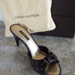 Authentic Louis Vuitton Monogram Heel